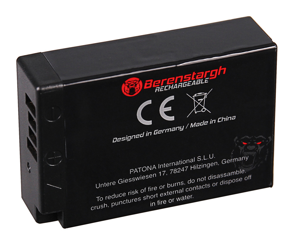 ... Preview: BERENSTARGH Battery f. Canon LP-E17 EOS 750D 760D 8000D Kiss X8i ...