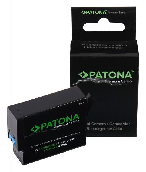 PATONA Premium Akku f. GoPro Hero 9 AHDBT901 ADBAT001