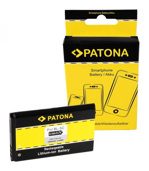 PATONA Batterie pour Nokia 6230 Asha 202 203 205 6230 100 101 109 112 113 1100 1101