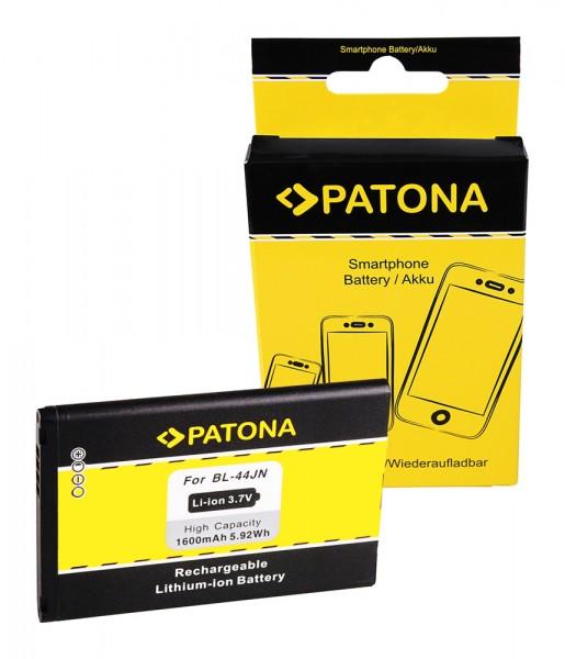 PATONA Batterie pour LG Optimus L5 (E610) Optimus Black (P970) Hub (E510) L1 II