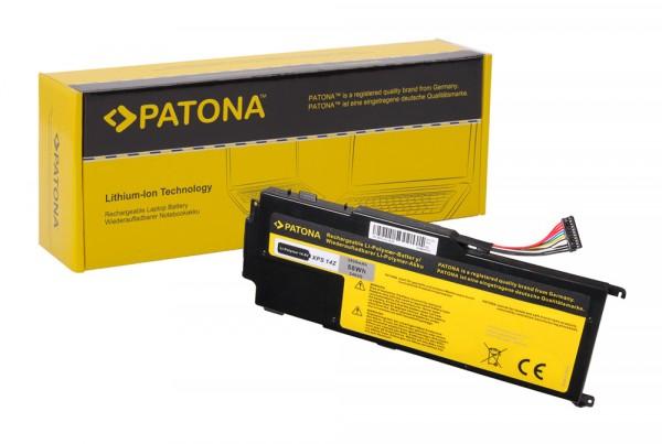 PATONA Akku f. Dell XPS 14Z XPS 14Z 14Z Ultrabook 14Z-L412x 14Z-L412z L412x