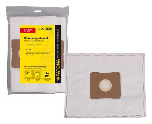 10x Staubsaugerbeutel Papier für BSC 1300 BSC 1400 Top Edition