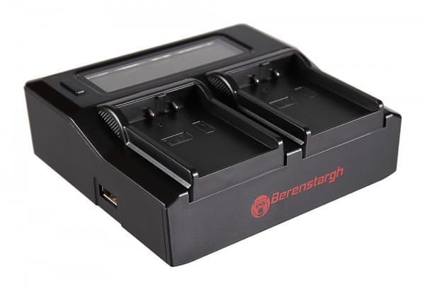 BERENSTARGH Dual LCD USB Chargeur pour Nikon Nikon EN-EL2 CoolPix 2500 3500 SQ