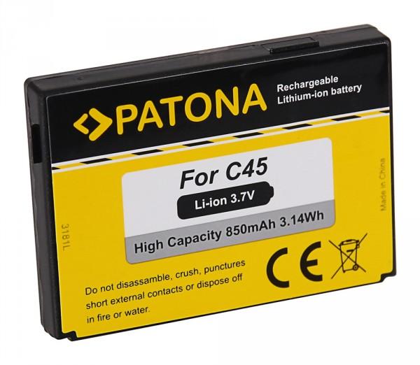 PATONA Batterie pour BenQ C45 A50 C45 M50 MT50 C45 C45 Siemens C45 A50 C45 M50 MT50