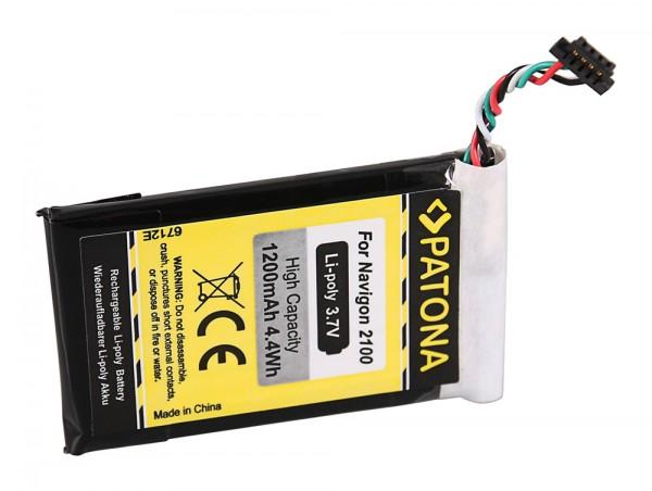 PATONA Batterie pour Navigon 2100 Max 2120 2210 2310 2100 Max 2110 Max 2120 Max 2150