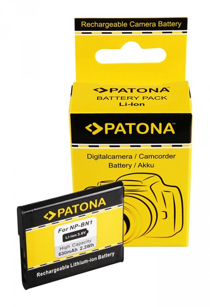PATONA Akku f. Sony NP-BN1 NPBN1 DSC-WX5 TX5 TX7 TX9 T99 Sony BN1