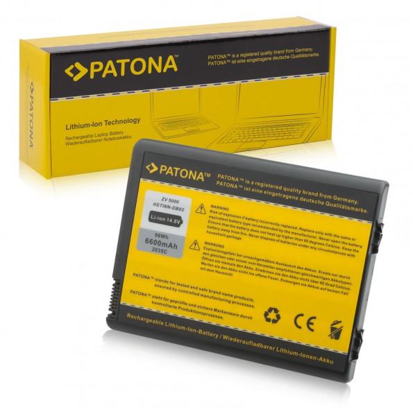 Akku für HP Pavilion ZX6000 ZX5000 ZD8200 ZV6000 ZV5000