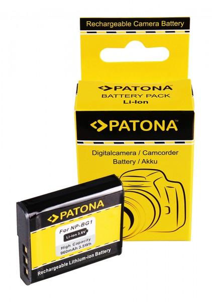 PATONA Akku f. Sony NP-BG1 DSC-N1 N2 H3 H7 H9 H10 T20 T25 W30 W35