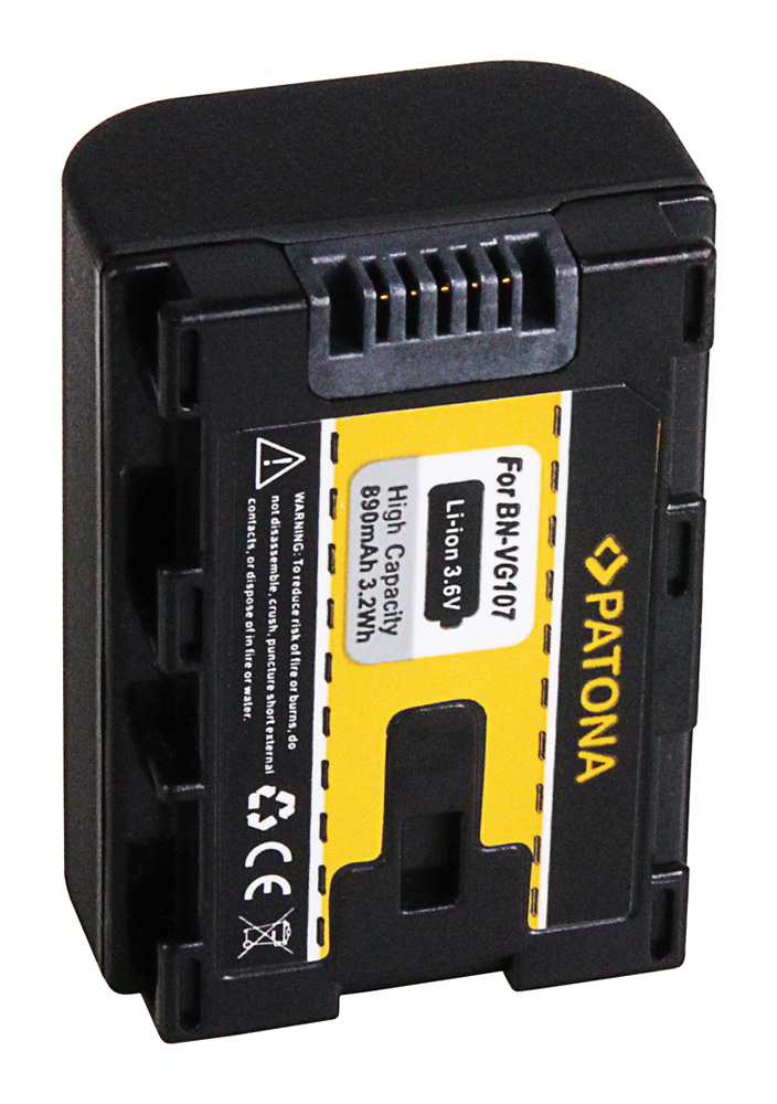 Patona Battery F Jvc Bn Vg107 Bn Vg107ac Bn Vg107e Bn
