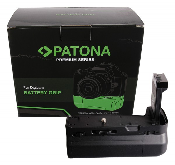 PATONA Premium Batteriegriff für Canon EOS-RP für 2 LP-E17 Akkus mit Fernbedienung