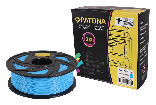 PATONA 1.75mm black PLA 3D printer Filament