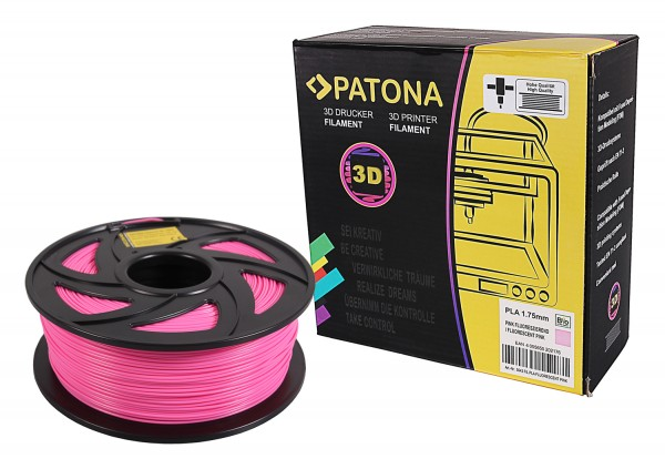 3D Printer Filament PLA 1.75mm 1kg fluorescent pink