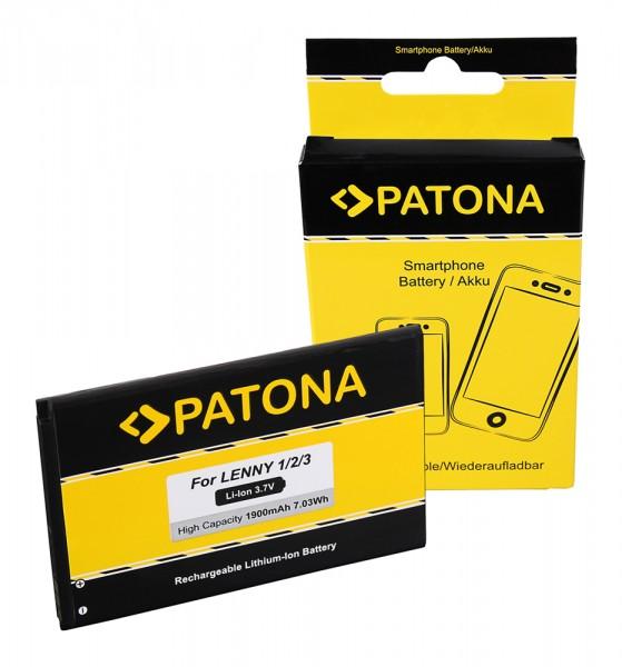 PATONA Batterie pour Wiko Lenny 1-2-3 5030 Lenny 1 2 3 I II III Lenny 1-2-3 5030