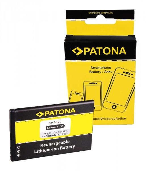 PATONA Akku f. Nokia BL6F Nokia BP3L BP-3L 603 Asha 303 Lumia 510 Lumia 610