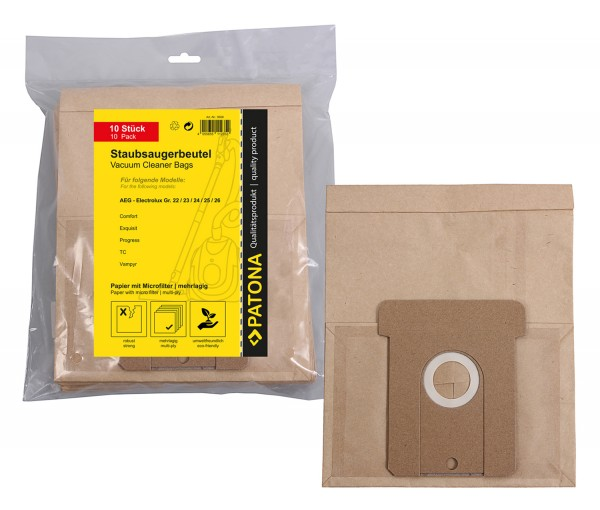 Double Couche Micro Filtration Poussière Sacs Pour Karcher Aspirateurs-Pack de 20