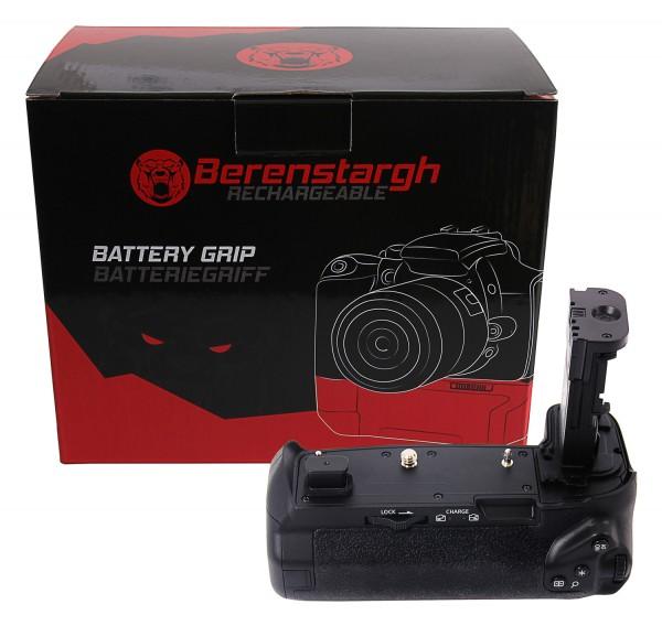 Berenstargh Batteriegriff BG-E22 für Canon EOS-R für 2 x LP-E6N Akku inkl. Fernbedienung