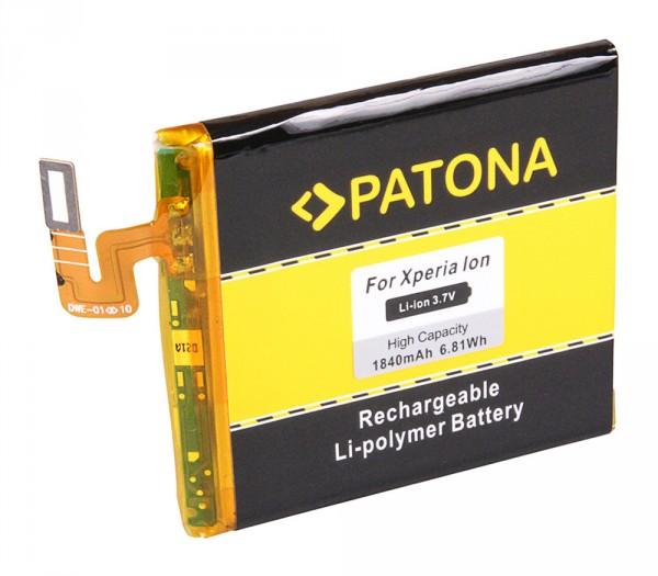 PATONA Batterie pour Sony Ericsson Ericsson Xperia Ion Xperia Ion LT28h LT28i