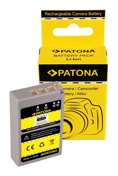 PATONA Batterie pour Olympus PS-BLS-5 PEN EP3 E-P3 EPL2 E-PL2 EPL3 E-PL3 EPM1 E-PM1