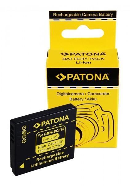 PATONA Akku f. Panasonic DMC-FT1 FS7 FS25 FX40 FX550