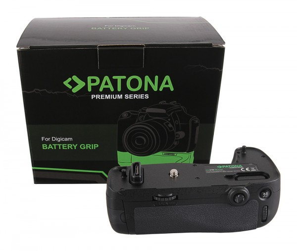 Poignée d'alimentation PATONA Premium pour Nikon D750 MB-D16H pour la batterie EN-EL15, compris la télécommande infrarouge