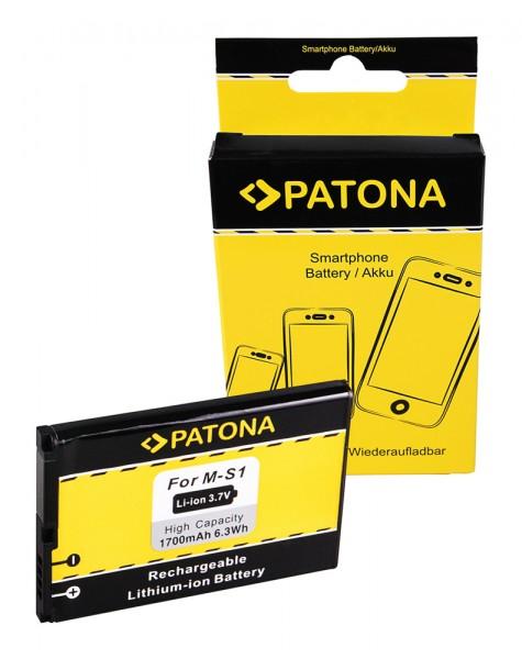 PATONA Akku f. Blackberry 8980 9700 9788 9000 Bold 9000 Bold 9700