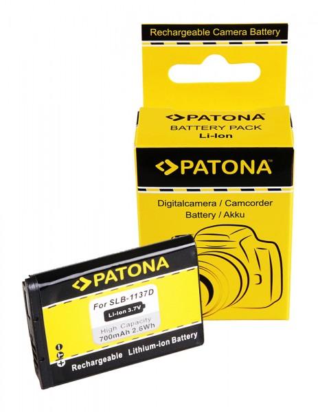 PATONA Akku f. Samsung Digimax i85 L74 wide NV11 NV24 HD NV30 SLB-1137D
