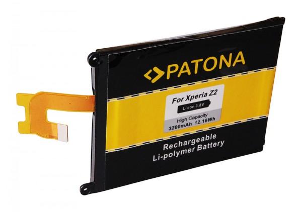 PATONA Batterie pour Sony Ericsson Ericsson Xperia Z2 Xperia D6502 D6503 D6543 L50W