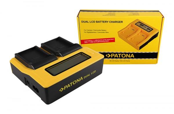 PATONA Dual LCD USB Chargeur pour Drift Drifc CFXDC02 HD Ghost