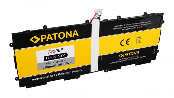 PATONA Batterie pour Samsung T4500E Galaxy P5200 P5210 P5213 Tab 3 10.1