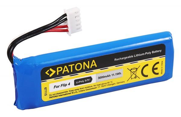 PATONA Battery f. JBL Flip 4 / Flip 4 Special Edition GSP872693 01