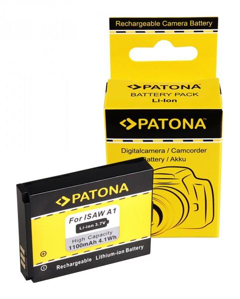 PATONA Akku f. Actionpro X7 ISAW A1 A2 A3 ISAW Advance Extreme 083443A