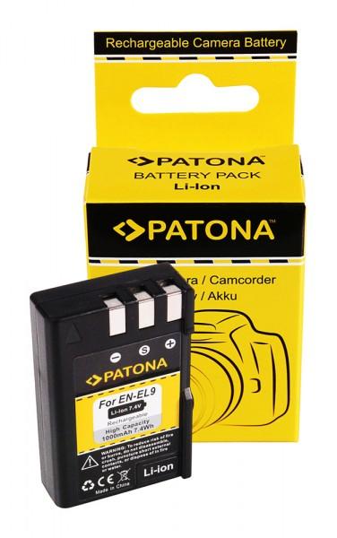 Battery f. NIKON EN-EL9 ENEL9 D40 D 40 D-40 D40x D60 D5000