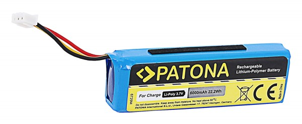 PATONA Battery f. JBL Charge Charge 1 AEC982999-2P AEC 982999-2P