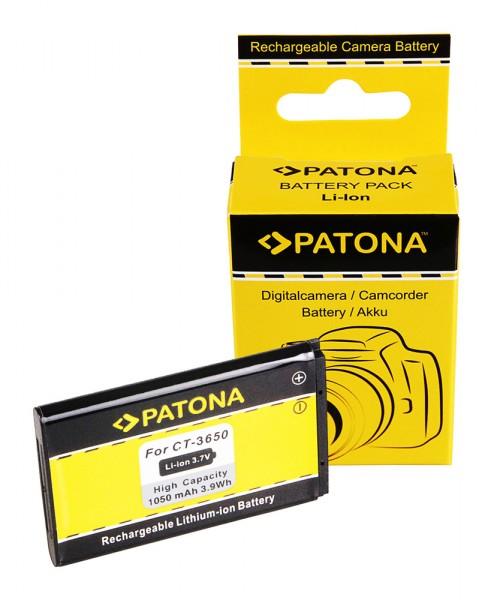 PATONA Akku f. Contour CT-3650 GPS HD 1080P