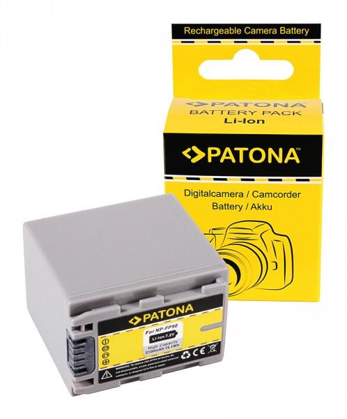 PATONA Akku f. Sony DCR-HC23 HC24 HC35 NP-FP60 FP70 FP90