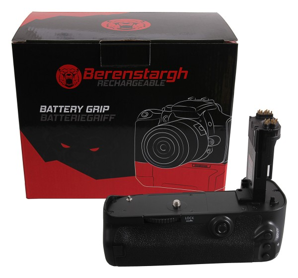 Berenstargh Battery Grip for Canon EOS 5D Mark III 5DS 5DSR BG-E11H for 2 x LP-E6 batteries incl. IR wireless control