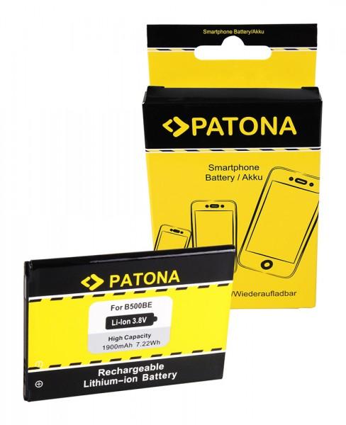 PATONA Battery f. Samsung CS-SMI257XL Galaxy S4 Mini Galaxy S4 Mini Duos