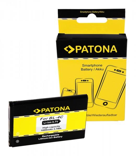 PATONA Battery f. Nokia BL-4C Nokia 1661 1662 2650 2651 2652 2690 3108
