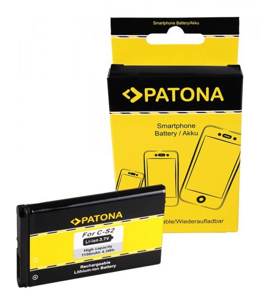 PATONA Battery f. Blackberry 8330 7100g 7100i 7100r 7100v 7100x 7130g
