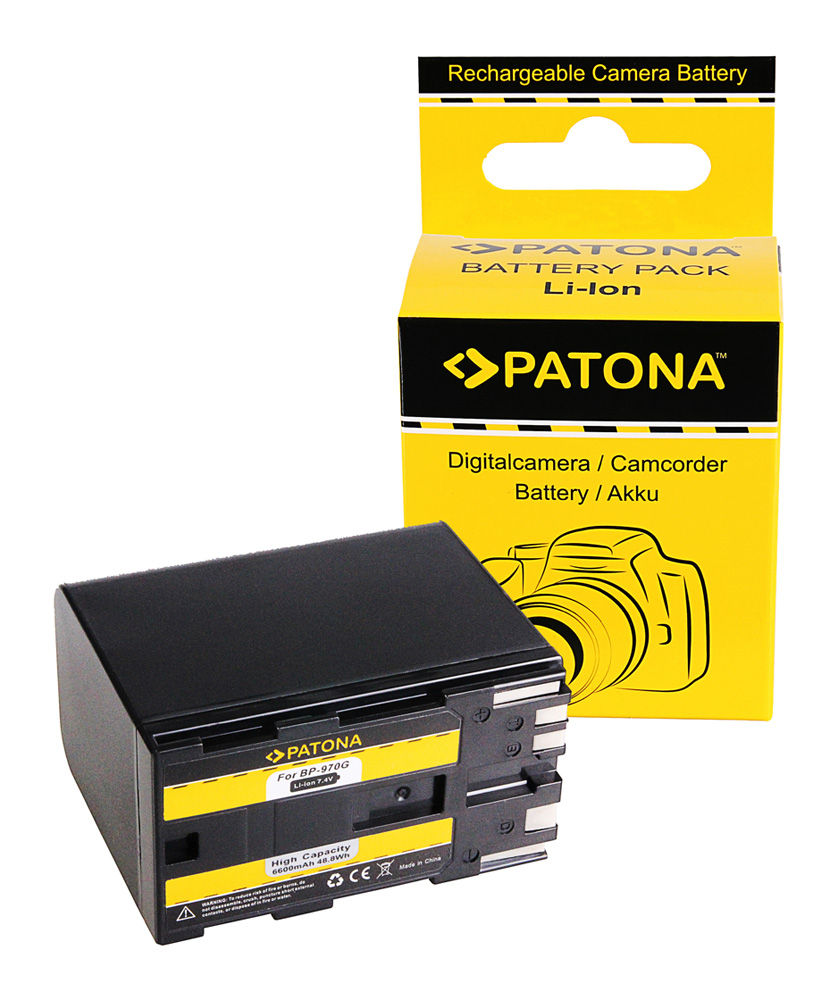 canon bp-925 bp-955 bp-970g bp-975 eos c100 Patona BATERIA F