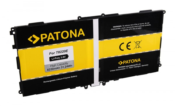 Batterie PATONA pour Samsung Galaxy Note 10.1 (2014 Edition) P600 P601 Galaxy Note
