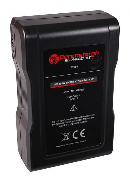 BERENSTARGH Batterie pour JVC Bauer Gold Mount Kamera GY HM850E HM890E Bauer Gold Mount