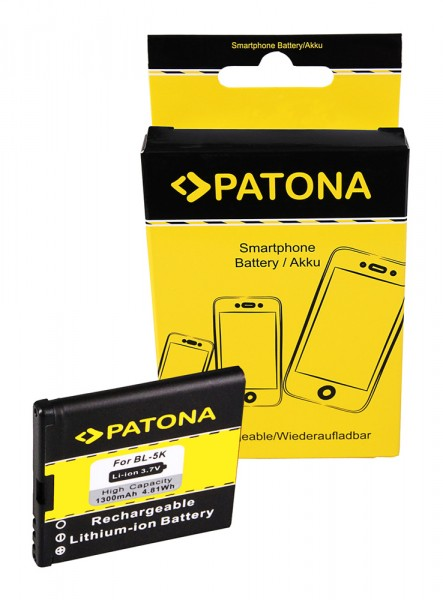 PATONA Akku f. Nokia BL5K 701 C7 C7-00 N85 N86-8MP N86-8MP Oro X7-00