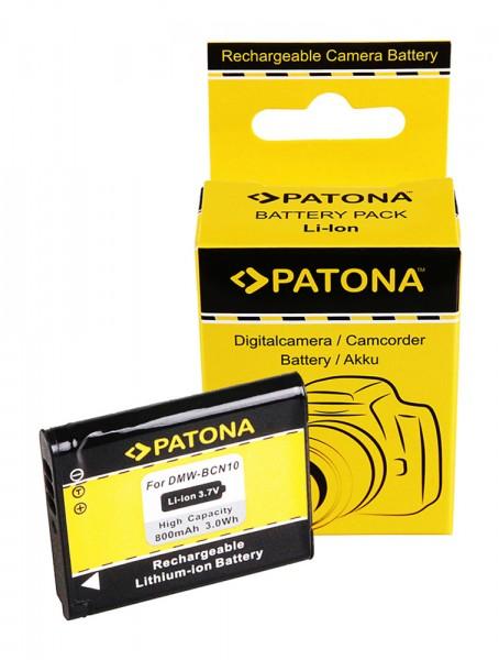PATONA Akku f. Panasonic DMW-BCN10 Panasonic LUMIX DMC-LF1 LF1K BCN10