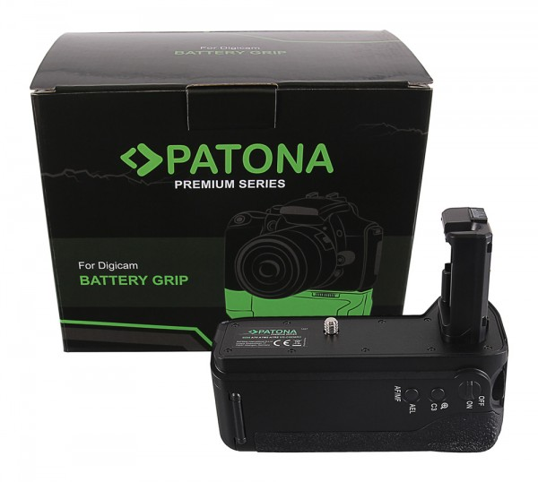 PATONA Premium Battery Grip f. Sony A7 II, A7M2 A7R2 VG-C2EMRC f. 2 x NP-FW50 batteries incl. 2,4G wireless control