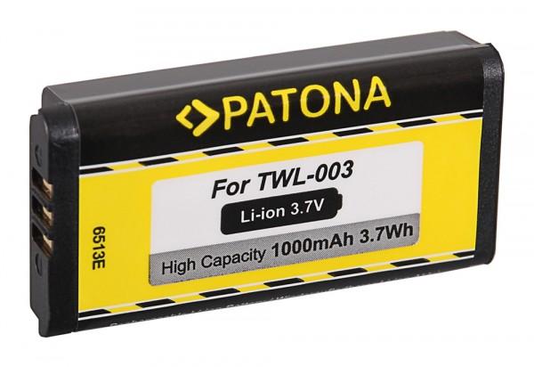 PATONA Battery f. Nintendo DSi NDSi NDSiL TWL-003 C/TWL-A-BP
