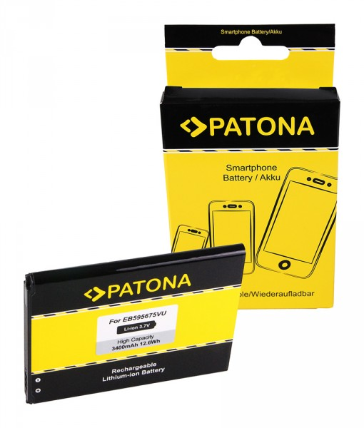 PATONA Battery f. Samsung EB595675LU GT-N719 Galaxy Note 2 GT-N7100