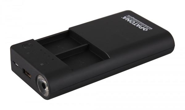 PATONA Powerbank für 2x GoPro Hero 3 Akkus inkl. USB-Output