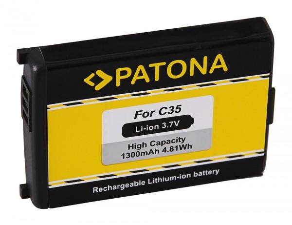 PATONA Battery f. Siemens C35 Gigaset 4000 micro 4000s micro 4010 micro 4010s