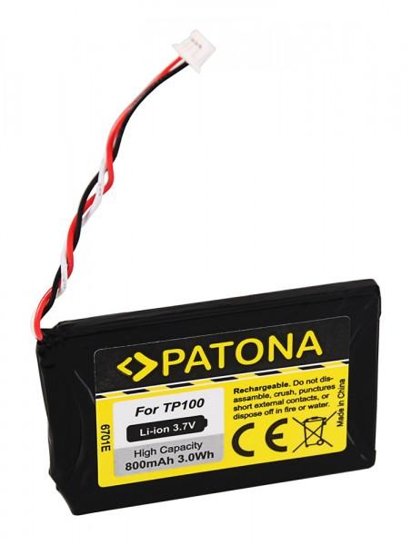 PATONA Battery f. Blaupunkt TP100 TravelPilot 100 200